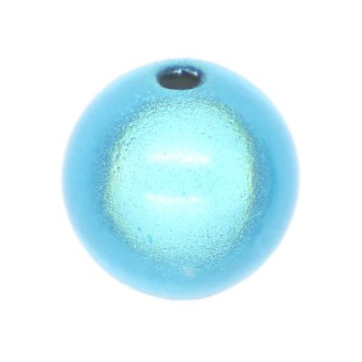 10 Perles magiques 12 mm Bleu Grade A