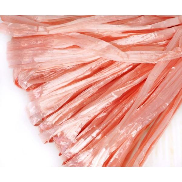 5m Perle Rose Plat Raphia Bande en Nylon de Broderie à la Main en Fil d'Orfèvrerie Luneville Tambour - Photo n°1