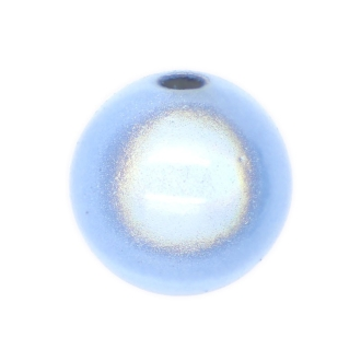 5 Perles magiques 14 mm Bleu Clair Grade A