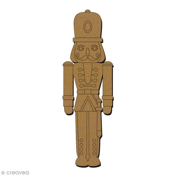 Figurine à décorer - Casse-noisette - 15 cm - Photo n°1