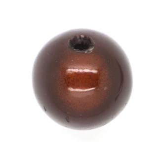 50 Perles magiques 4 mm Chocolat Grade A