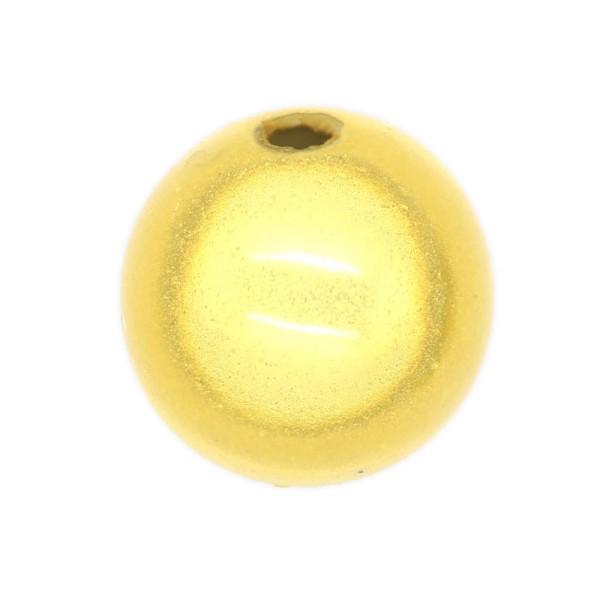 10 Perles magiques 12 mm Doré Grade A - Photo n°1