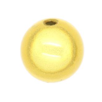10 Perles magiques 12 mm Doré Grade A
