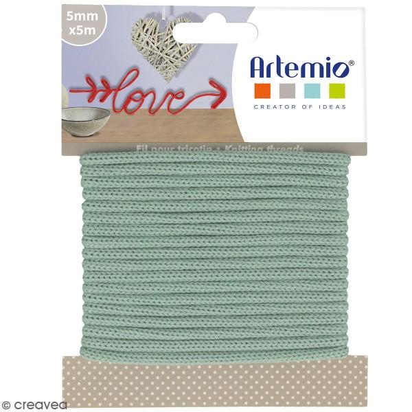 Fil de tricotin Artemio - Lichen - 5 mm x 5 m - Photo n°1