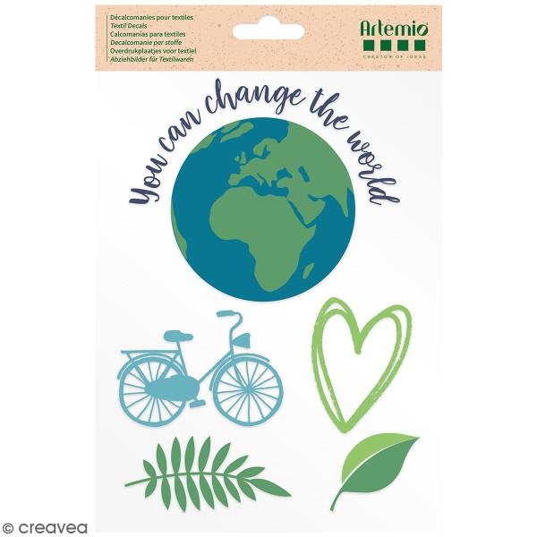 Transfert thermocollant A5 Artemio - Save your planet - Photo n°1