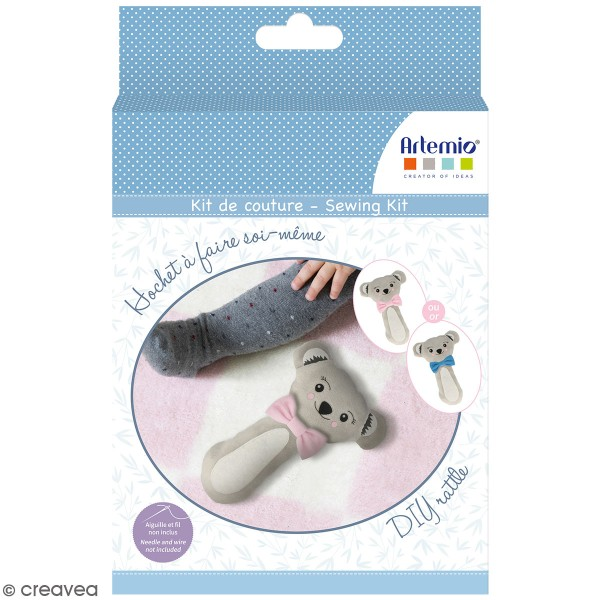 Kit de couture Artemio - Hochet Koala - Photo n°1