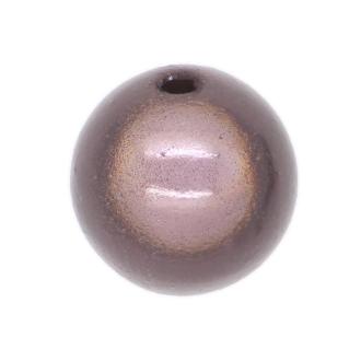 10 Perles magiques 12 mm Gris Grade A