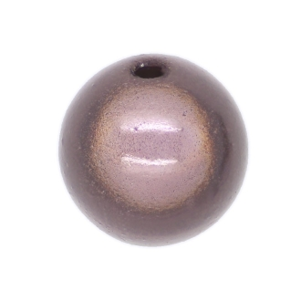 5 Perles magiques 14 mm Gris Grade A