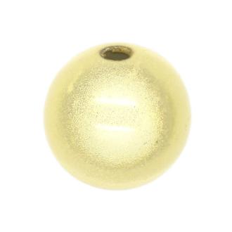 50 Perles magiques 4 mm Ivoire Grade A