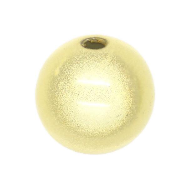 10 Perles magiques 10 mm Ivoire Grade A - Photo n°1