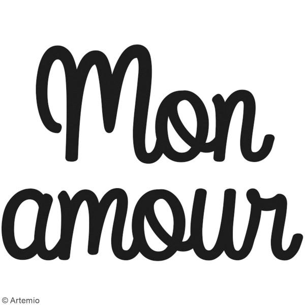 Die Artemio Mon amour - 6,2 x 5 cm - 1 pce - Photo n°2