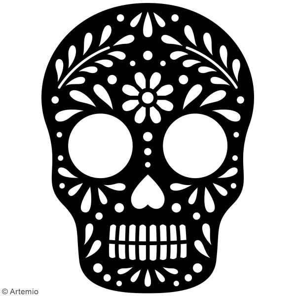 Die Artemio Tête de mort mexicaine - 8,7 x 11,7cm- 1 pce - Photo n°2
