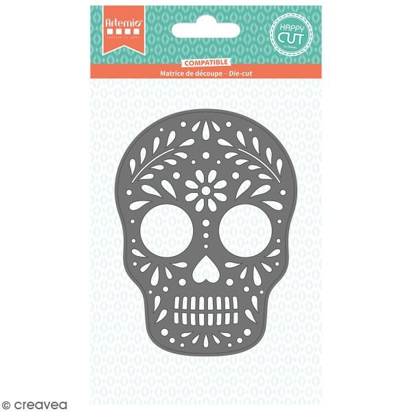 Die Artemio Tête de mort mexicaine - 8,7 x 11,7cm- 1 pce - Photo n°1