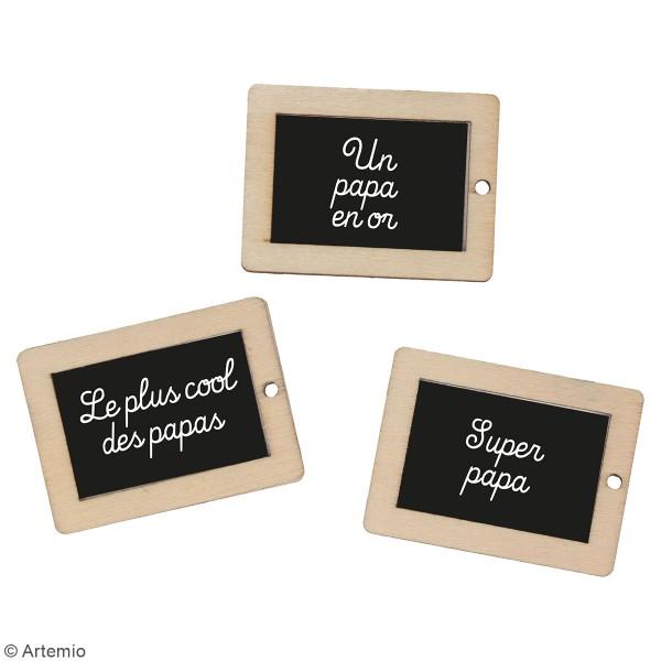 Kit DIY porte-clés à message - Papa - 3 pcs - Photo n°2