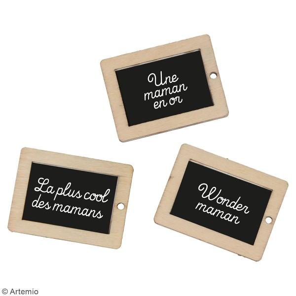Kit DIY porte-clés à message - Maman - 3 pcs - Photo n°2