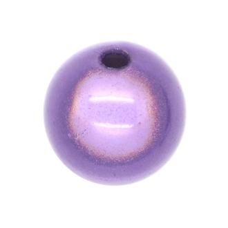 20 Perles magiques 8 mm Mauve Grade A