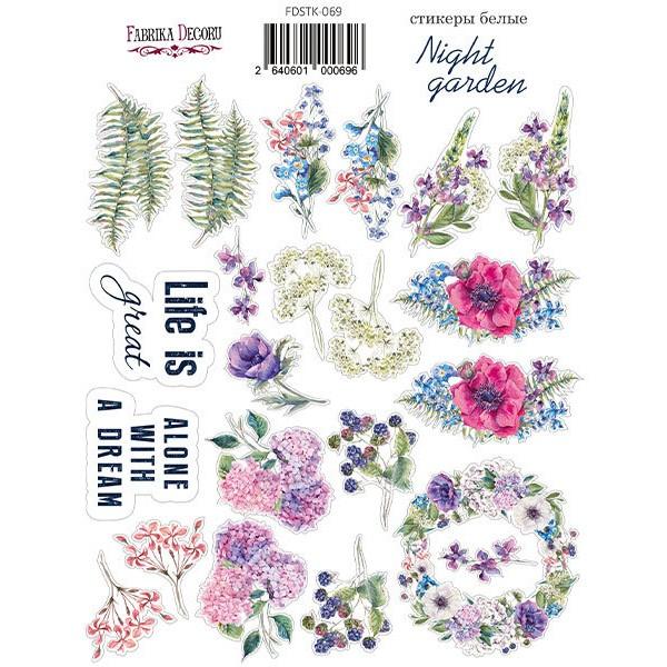 Stickers fantaisies couleur Fabrika Décoru NIGHT GARDEN 069 - Photo n°1