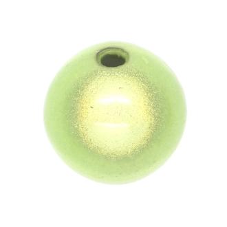 5 Perles magiques 14 mm Vert Clair Grade A