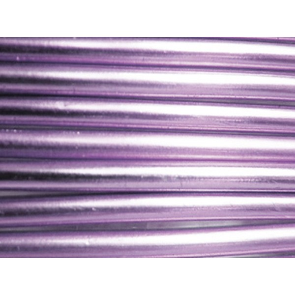 5 Mètres fil aluminium lilas 1mm Oasis ®