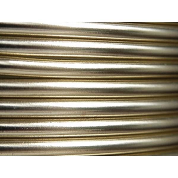 2 Mètres fil aluminium perle 4mm Oasis ® - Photo n°1