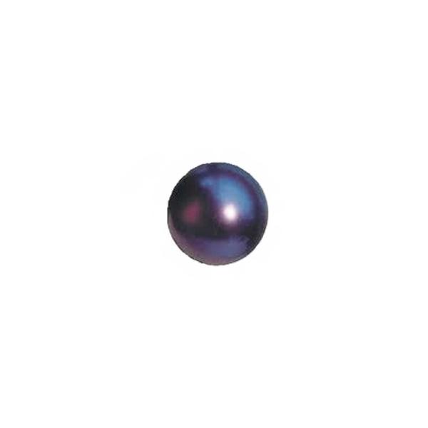 10 x Perles Hématites peintes Violet nacré 6mm - Photo n°1