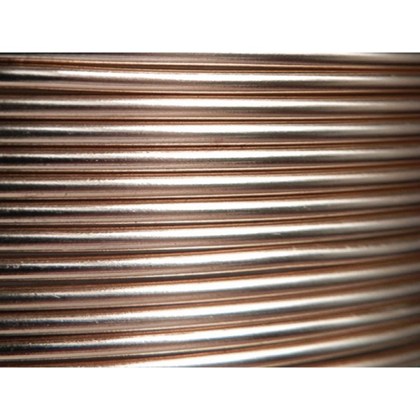 10 Mètres fil aluminium ciselé argent 2mm Oasis ®