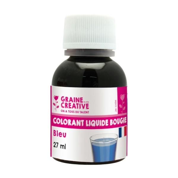 Colorant liquide pour bougie Bleu 27 ml - Photo n°1