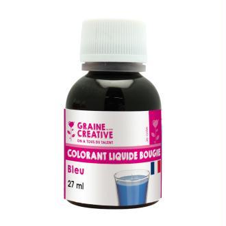 Colorant liquide pour bougie Bleu 27 ml