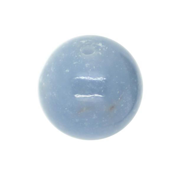 1 x Perle Anhydrite 14mm - Grade A - Photo n°1