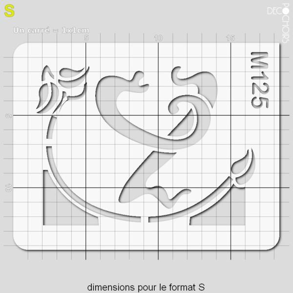 Pochoirs lettrine et monogramme art nouveau: Y - Photo n°3