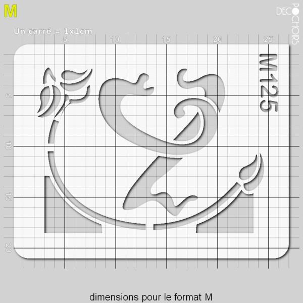 Pochoirs lettrine et monogramme art nouveau: Y - Photo n°4
