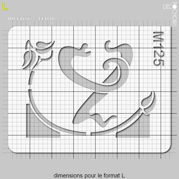 Pochoirs lettrine et monogramme art nouveau: Y - Photo n°5