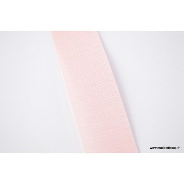 Velcro 20mm male + femelle rose 0103 - Photo n°1