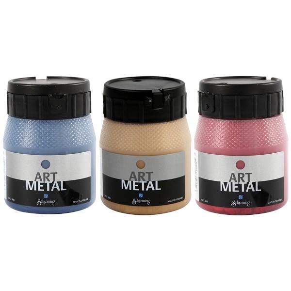 Peinture Art Metal - 250 ml - Photo n°1
