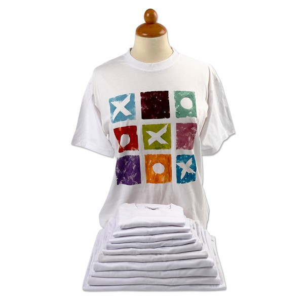 T-shirt à manches courtes - Blanc - 1 pce - Photo n°1