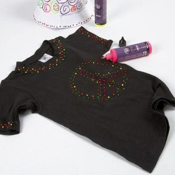 T-shirt à manches courtes - Noir - 1 pce - Photo n°3