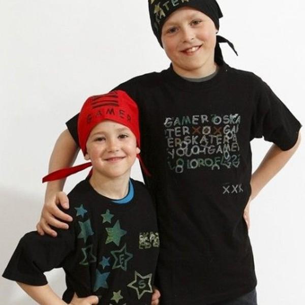 T-shirt à manches courtes - Noir - 1 pce - Photo n°4