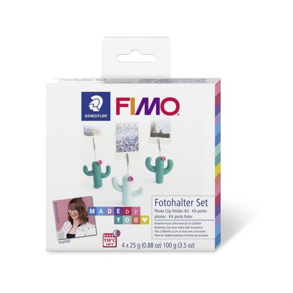 FIMO Soft Set De Bricolage Support D'Épissures Pour Une Photo De Cactus, Kit De Bricolage, Des Fourn - Photo n°1