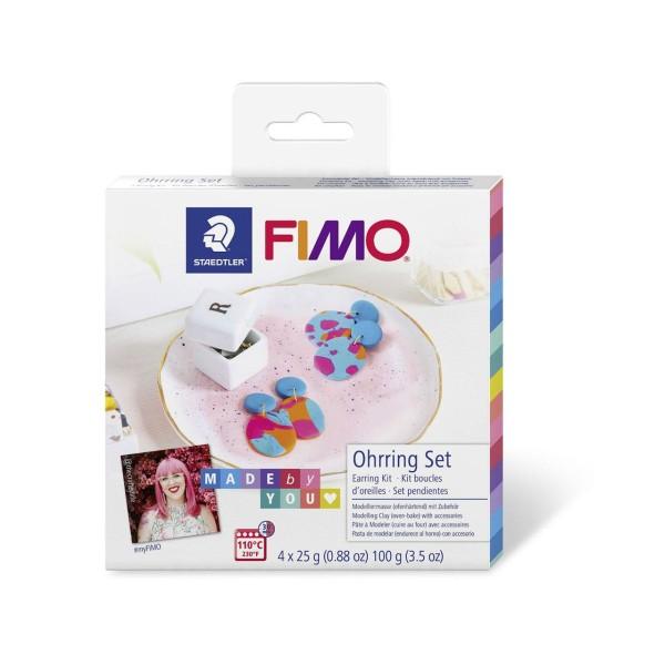 FIMO Soft Set De Bricolage Boucles D'Oreilles, Kit De Bricolage, Bricolage À La Main, Des Fourniture - Photo n°1