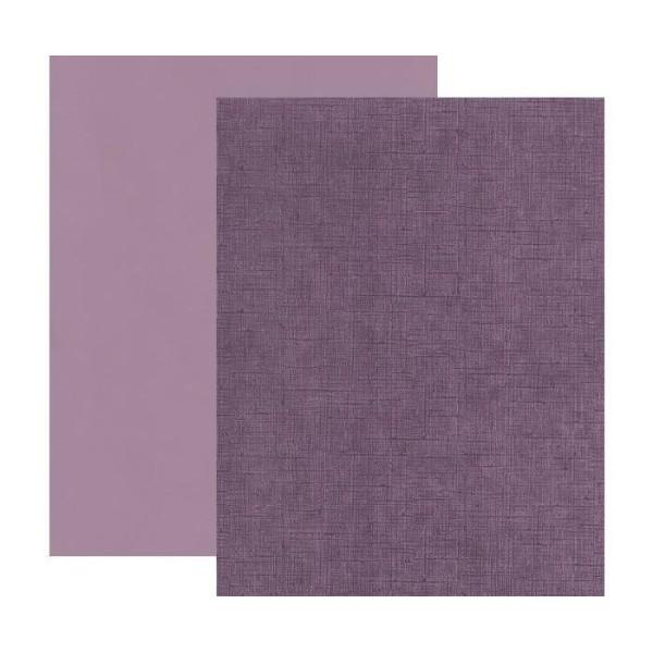Texturé Trimestre A4 Vintage Lilas 220g / M2, Ursus, Feuille, Feuilles, Couleur Solide, Scrapbooking - Photo n°1