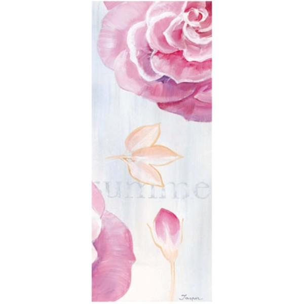 Image 3D - 1000811 - 20x50 - Rose fond bleu pastel - Photo n°1