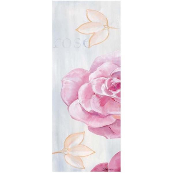 Image 3D - 1000809 - 20x50 - Rose fond bleu pastel - Photo n°1