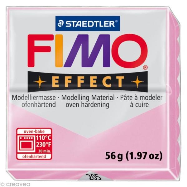 Pâte Fimo Effect Rose pastel 205 - 56 gr - Photo n°1