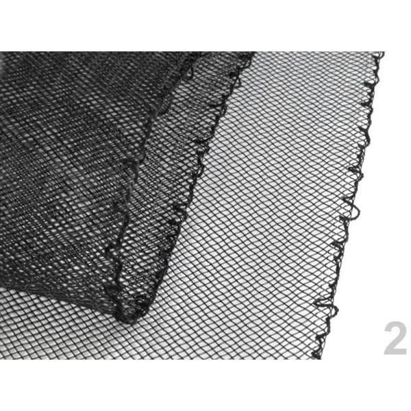 10m (cc16) Noir Crin de cheval Tresse Crinoline, Artisanat Bricolage, Douche de Bébé, Accessoires de - Photo n°1