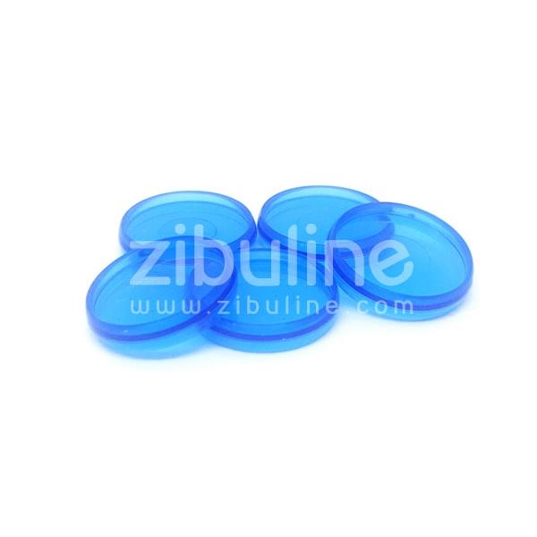 Disques à relier - Transparent bleu - Photo n°1