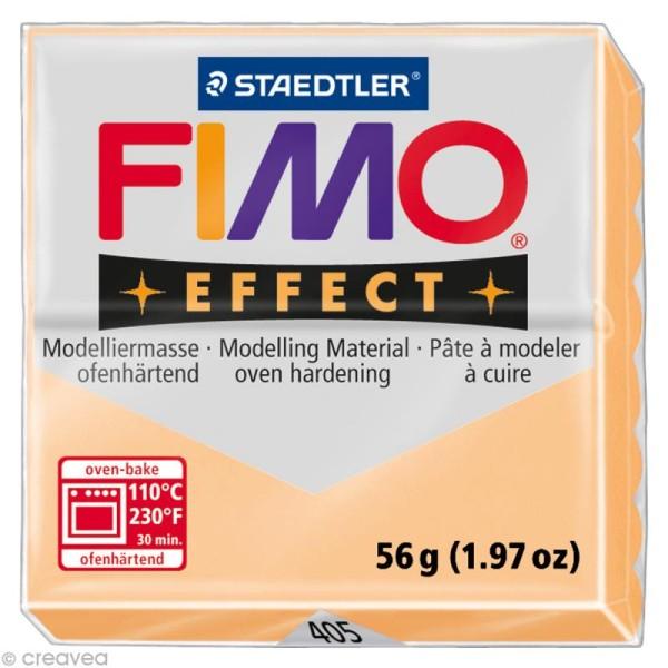 Pâte Fimo Effect Orange pastel 405 - 56 gr - Photo n°1