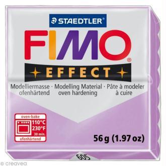 Pâte Fimo Effect Violet mauve pastel 605 - 56 gr