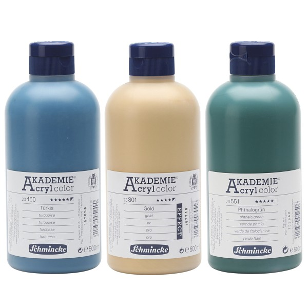 Peinture acrylique Schmincke Akademie Acryl Color - 500 ml - Photo n°1