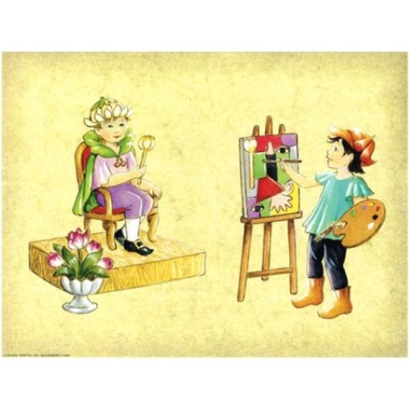 Image 3D - Astro 561 - 24x30 - Enfant roi et peintre - Photo n°1