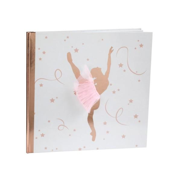Livre d'or ballerine - Photo n°1